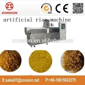 Mesin pembuat beras sintetsi (ekstruder) harga 100an jt.